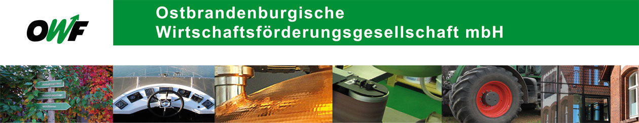 OWF GmbH - Wirtschaftsförderung Ostbrandenburg Logo